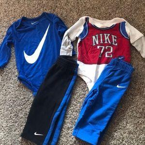 Nike 9-12 Months onesie sets